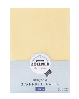 Zöllner Jersey Fitted Sheet for Child's Bed -  * The soft and smooth fitted sheet by the manufacturer Zöllner supplies your little one with the most peaceful dreams.