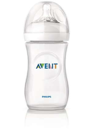 AVENT Natural Baby Bottle -  * Close to nature! The bottle is ergonomically shaped and easy to hold and grip in any direction for maximum comfort, even for your little one's tiny hands.