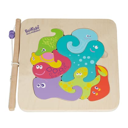 BoiKido 2-in-1 fishing puzzle 2016 - large image