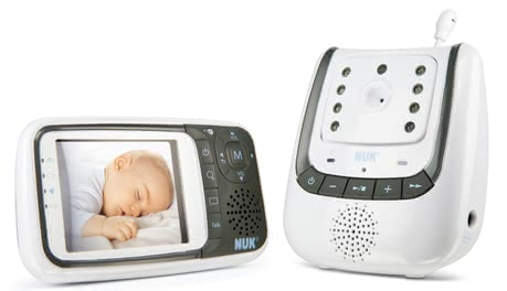 NUK Baby Monitor Eco Control+ Video -  * Being equipped with the NUK Baby Monitor Eco Control+ Video, you can not only hear but also see if your baby is sleeping peacefully in his bed.