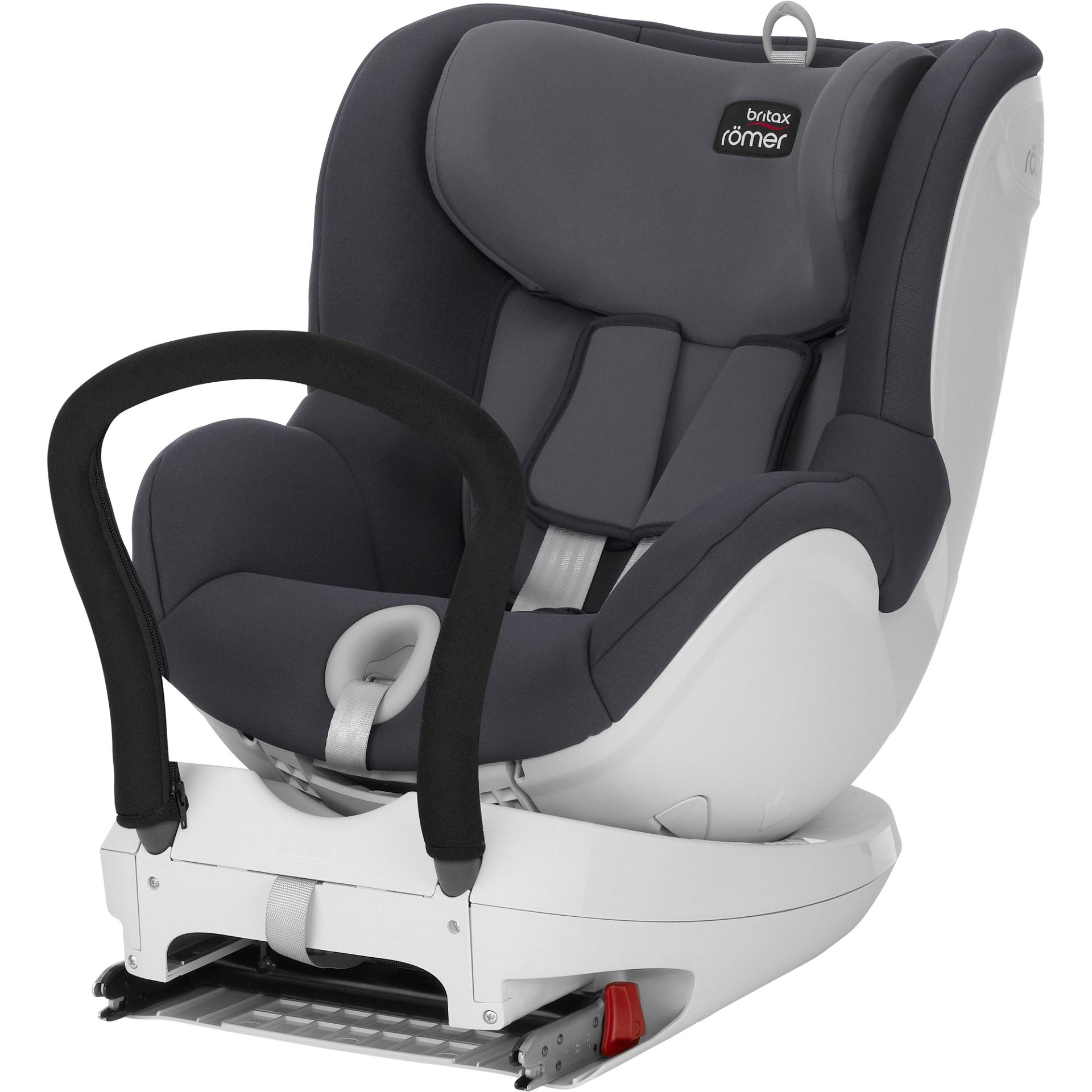 Britax Romer Car Seat Dualfix Storm Grey 2019 Large Image 1