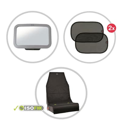 "Britax Römer Safety Kit ""Protect – Shade – See"" -  * The Britax Römer Safety Kit consists of 3 parts and provides additional protection in the car"