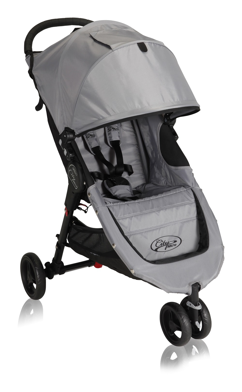 Baby Jogger City Micro 3 Wheeler 2014 Gray Black Buy At