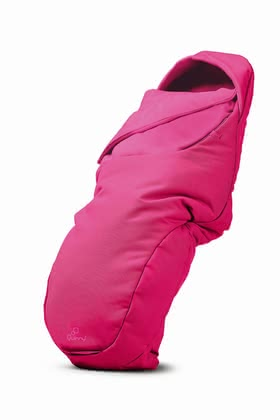 Quinny Footmuff Pink Passion 2020 - large image
