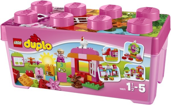 lego duplo girl s brick box 2017 buy at kidsroom toys. Black Bedroom Furniture Sets. Home Design Ideas