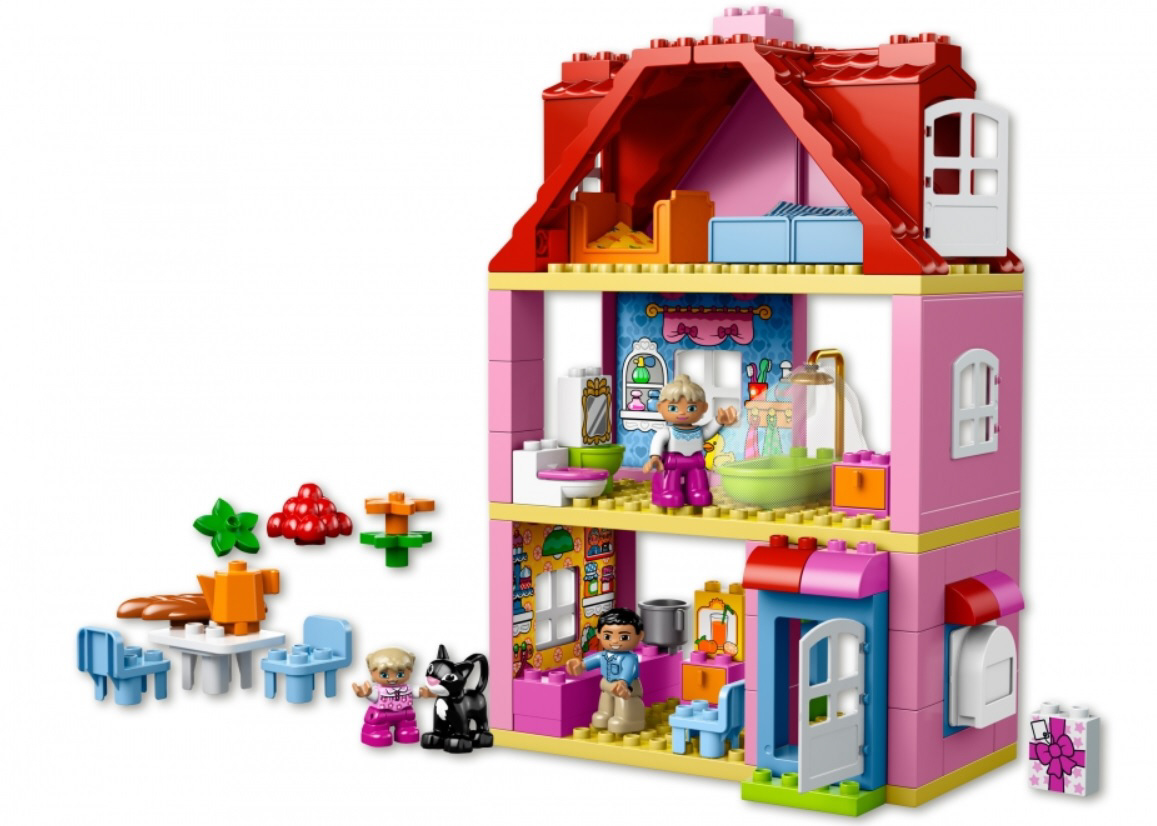 My First Room Toddler 3 Piece Room In A Box: LEGO Duplo Family House 2016 - Buy At Kidsroom