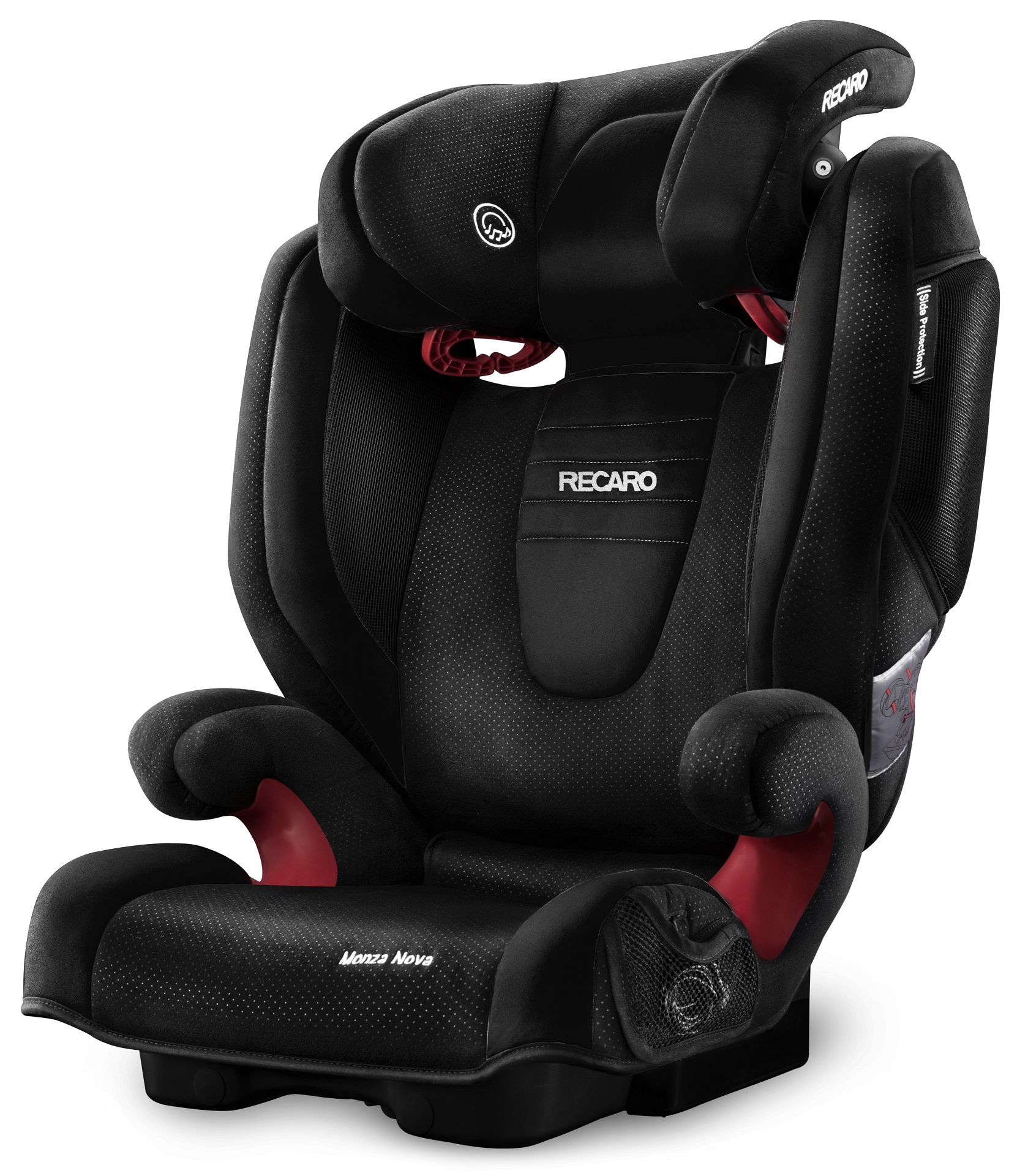 recaro child car seat monza nova 2 2016 black buy at kidsroom car seats. Black Bedroom Furniture Sets. Home Design Ideas