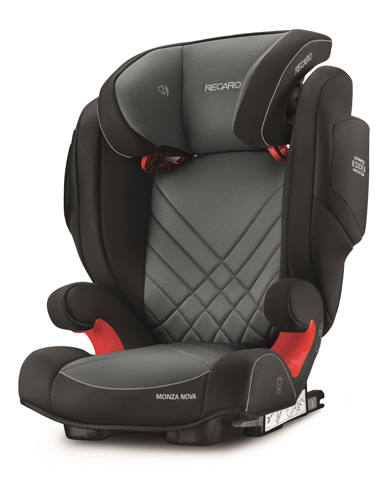 recaro child car seat monza nova 2 seatfix 2018 carbon. Black Bedroom Furniture Sets. Home Design Ideas