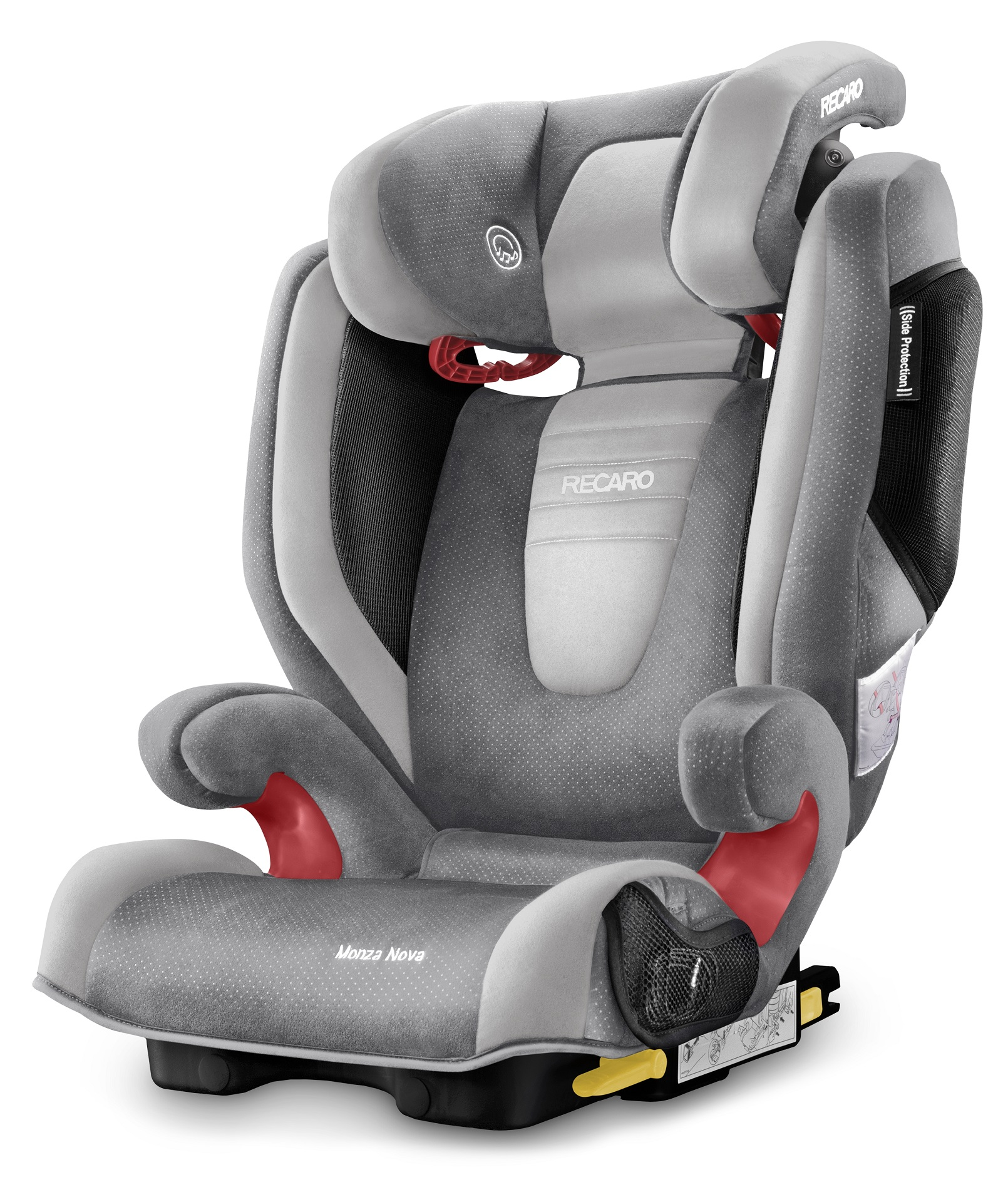 recaro monza nova 2 seatfix 2016 shadow buy at kidsroom. Black Bedroom Furniture Sets. Home Design Ideas