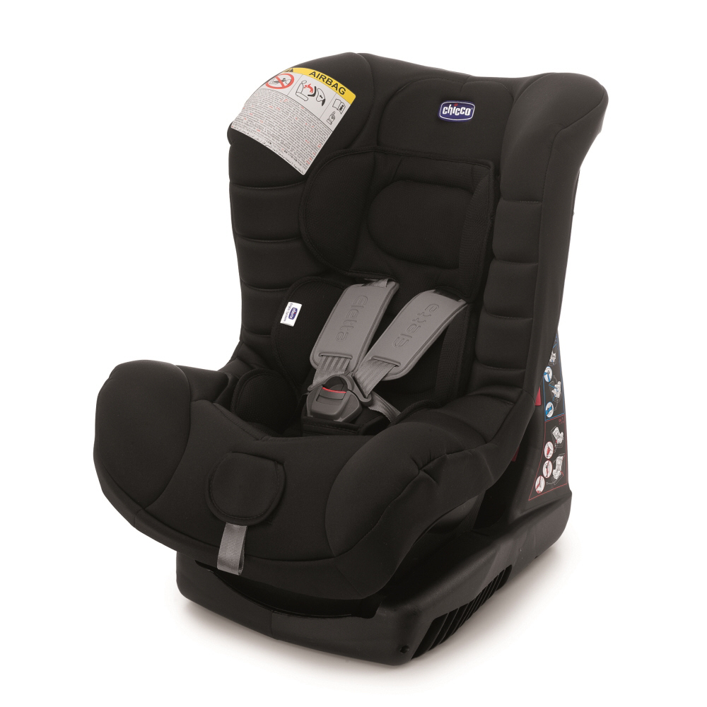 chicco child car seat eletta comfort 2016 black buy at kidsroom car seats. Black Bedroom Furniture Sets. Home Design Ideas