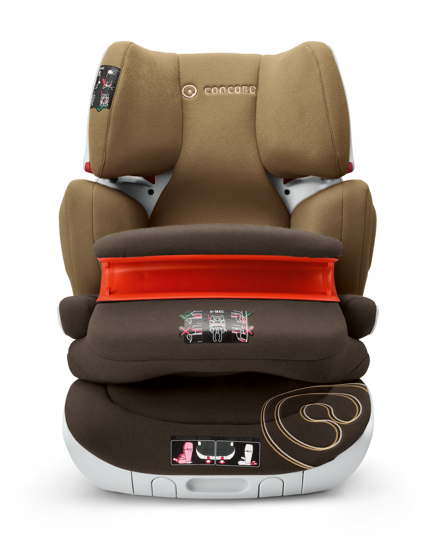 Concord baby car seats: model overview, features and reviews 3