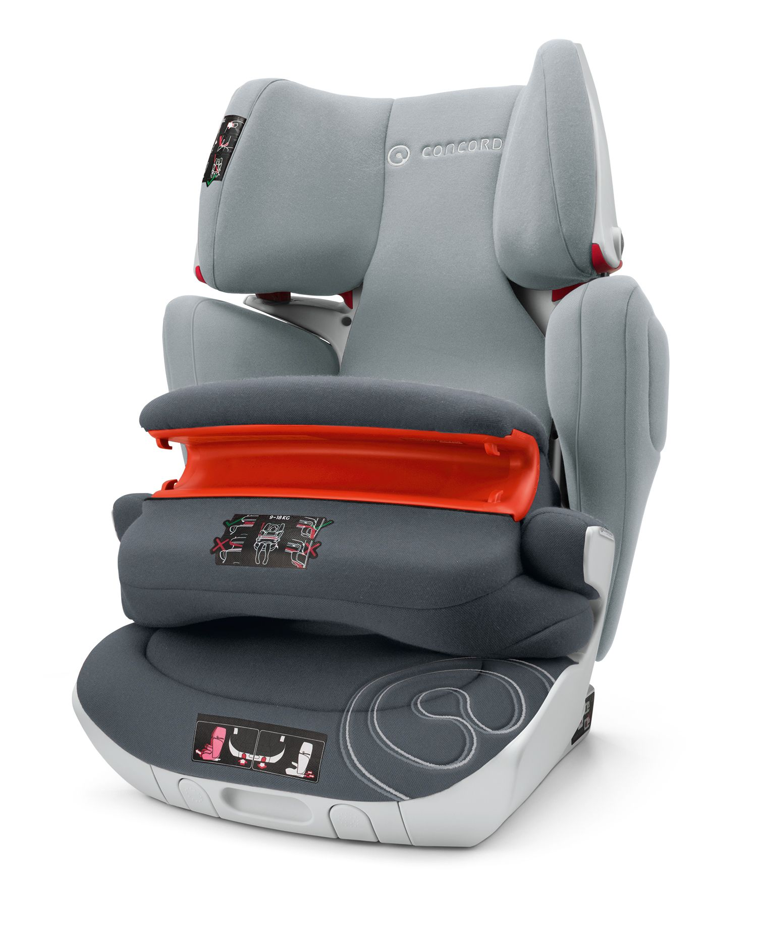 Concord baby car seats: model overview, features and reviews 63