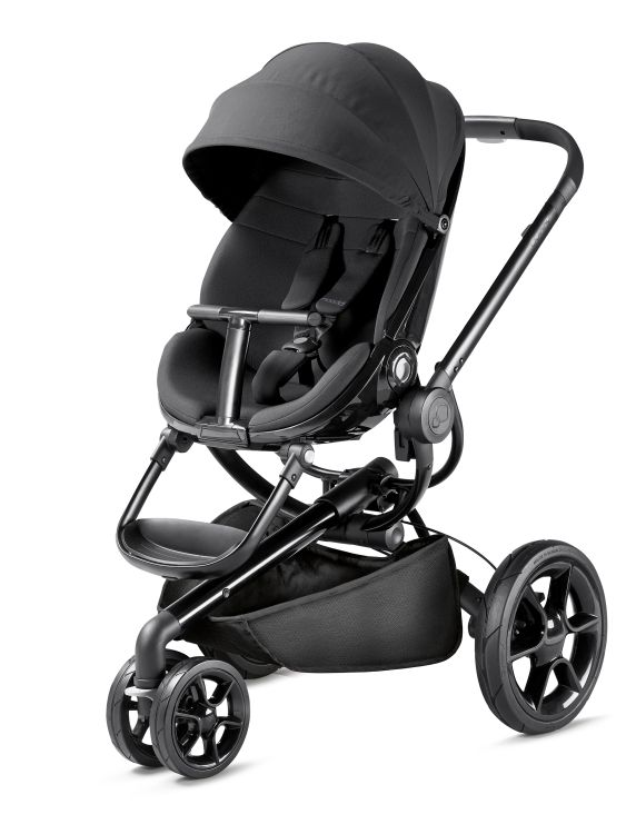 Quinny moodd stroller 2018 black devotion buy at for Housse quinny moodd