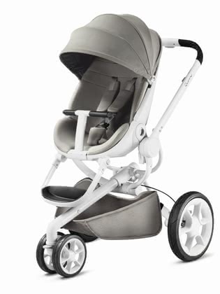 Quinny Moodd stroller - The Quinny Moodd unites flexibility, mobility and a chic design. The sophisticated chassis ensures a perfect road ability and high maneuverability.