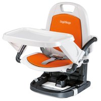 Peg-Perego Highchair Rialto - * The Rialto seat-booster by Peg-Perego can be unfolded or together folded in a blink and ideal suitable on journeys