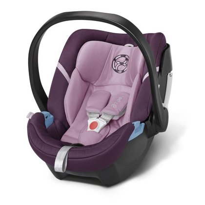 Cybex Infant carrier Aton 4 Princess Pink - purple 2016 - large image
