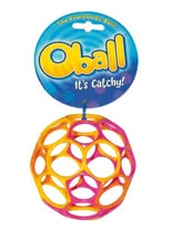 Oball Original - * The Oball is made of flexible plastic, promotes motor skills of your sweetheart and is suitable for all ages