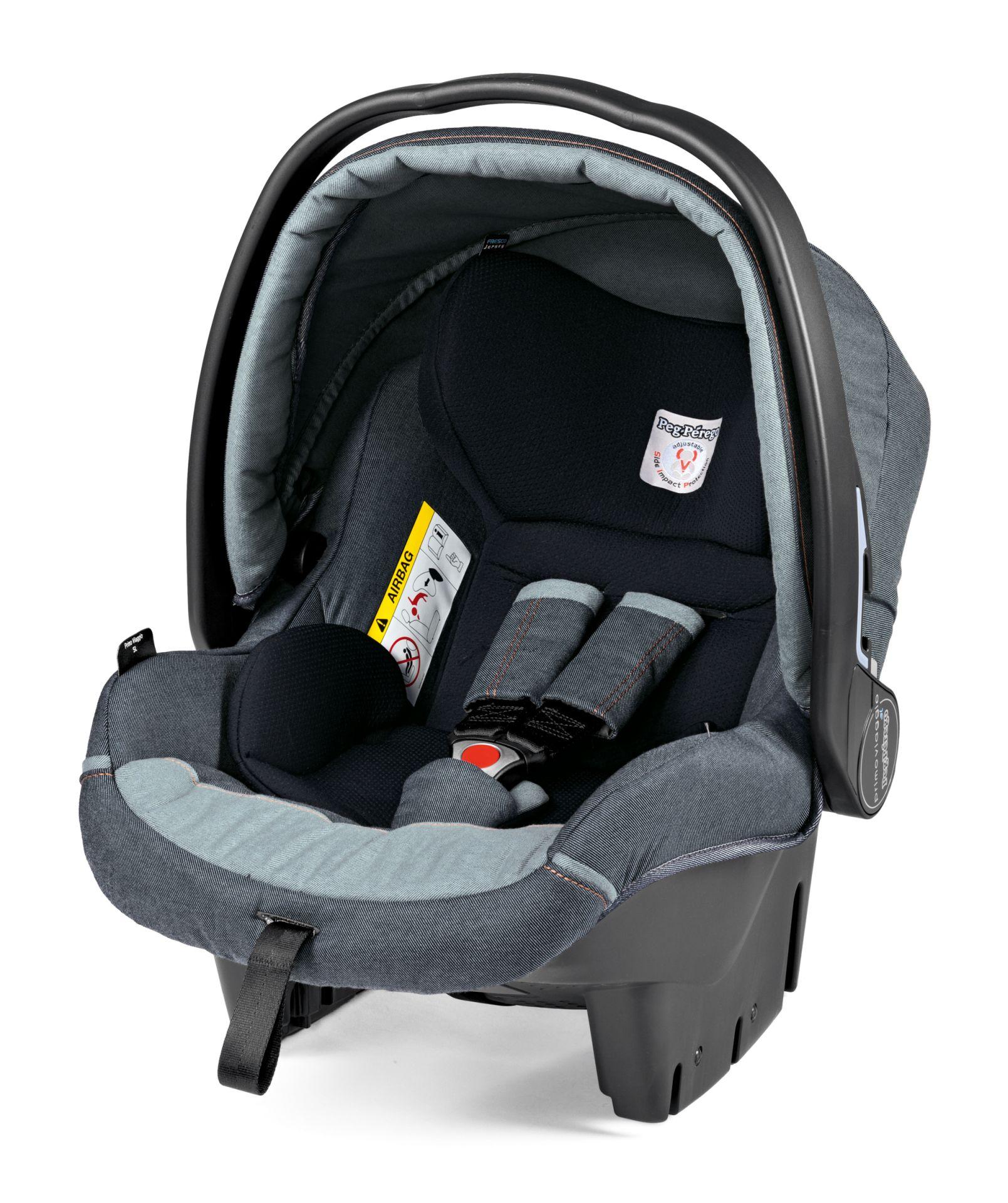 Peg-Perego Infant Car Seat Primo Viaggio SL 2017 Blue Denim - Buy at ...