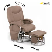 Hauck Nursing and relaxing chair Metal-Glider Recline 6870-0-85013