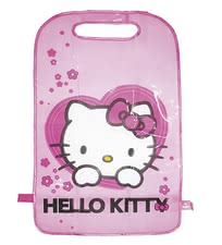 Backrest protection Hello Kitty - * The backrest protection protects the backrest of the driver or co-driver seat of your car against dirt and is equipped with a nice Hello Kitty motif