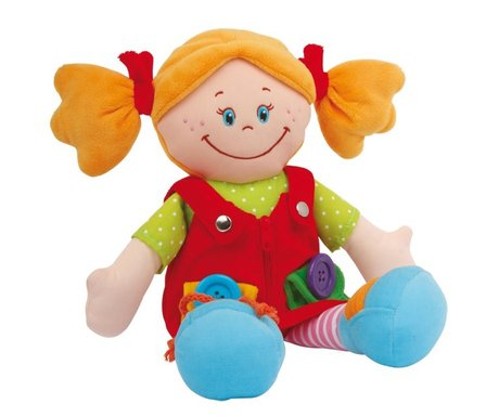 Dolls Chiara and Massimo - * The dolls have a size of approx. 30 x 9 x 36 cm and promote the fine motor skills of your treasure