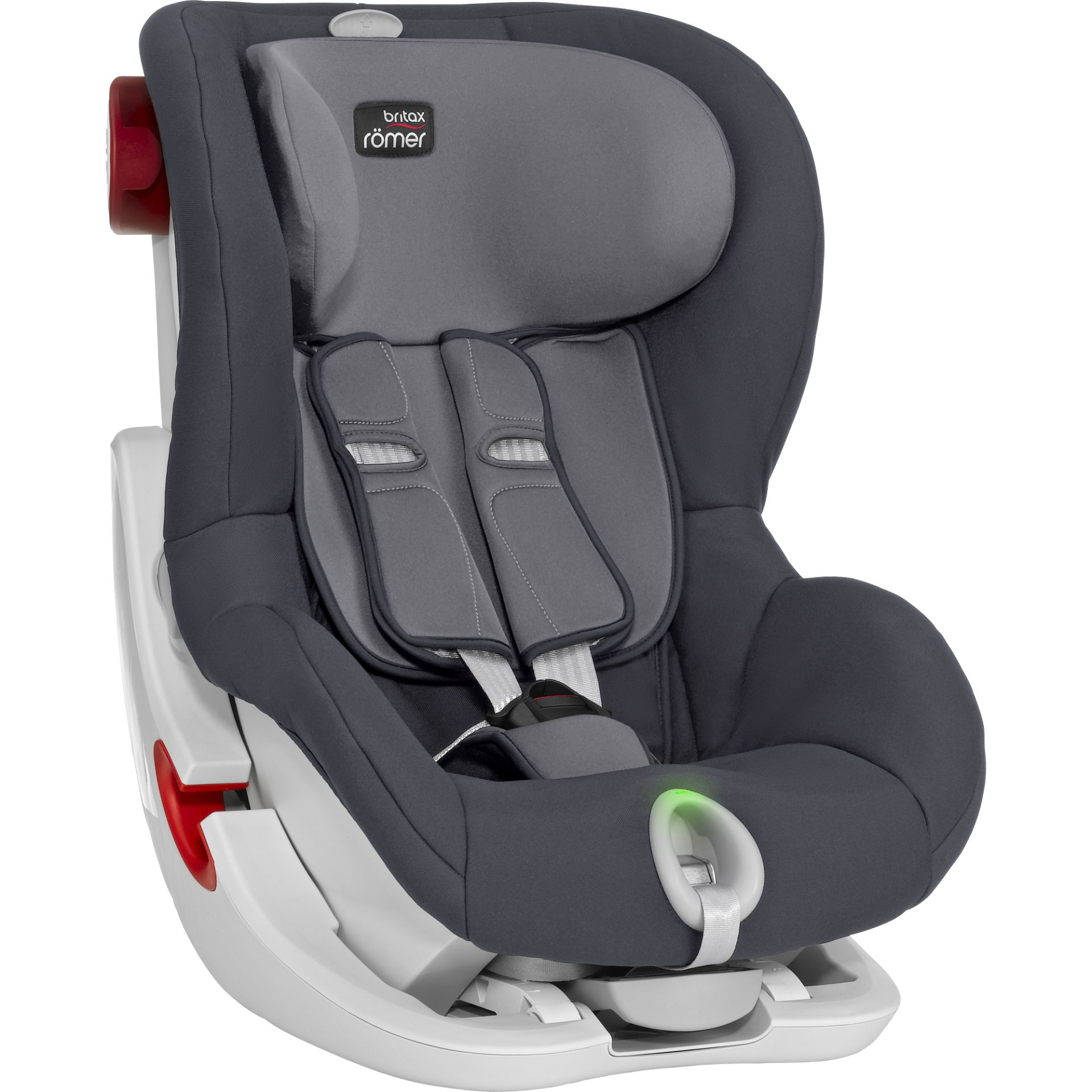 britax r mer child car seat king ii ls 2018 storm grey buy at kidsroom car seats. Black Bedroom Furniture Sets. Home Design Ideas