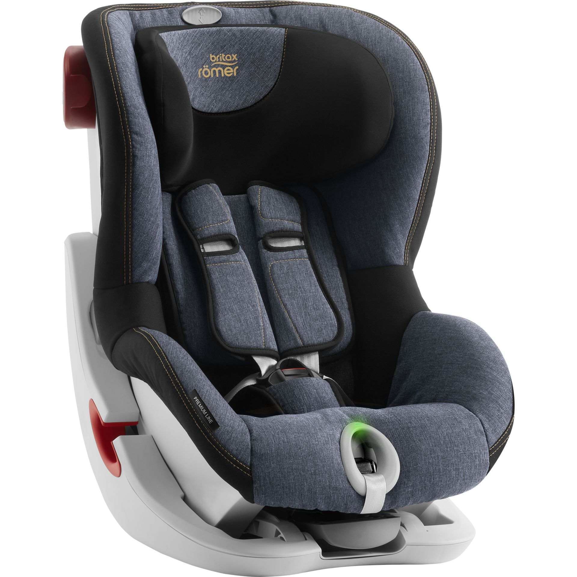 britax r mer child car seat king ii ls 2018 blue marble. Black Bedroom Furniture Sets. Home Design Ideas