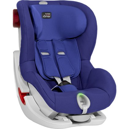 Britax Römer Child Car Seat King II LS - * The Britax Römer child car seat King II LS provides your child with many relaxed rides in your car. The innovative five-point harness with light and sound indicator help mom and dad fasten their child correctly.