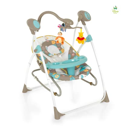 Disney baby 2 in 1 Swing  Winnie the Pooh 2014 - large image