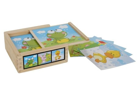 cube puzzle Animal friends - * The cube puzzle provides loads of fun and variety.