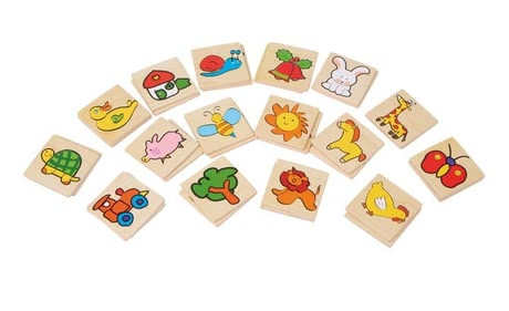 "Memory ""Multicolored"" - * The Memory ""Multicolored"" is suitable for your little treasure from the age of 3 years and provides the concentration"