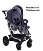 Teutonia Combi stroller Mistral S Titanium 5010_Cool Sand 2015 - large image 2