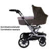 Teutonia Combi stroller Mistral S Titanium 5010_Cool Sand 2015 - large image 3