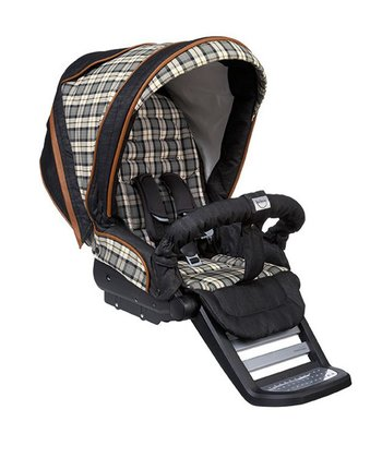 Teutonia Combi stroller Cosmo Graphite 5210_Wild West 2015 - large image