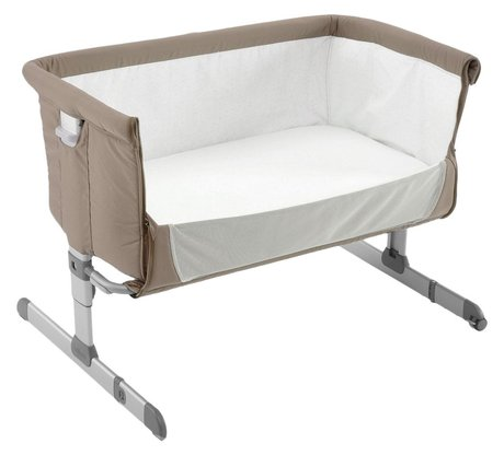 Chicco Co-sleeper cot Next2Me Dove Grey 2017 - large image