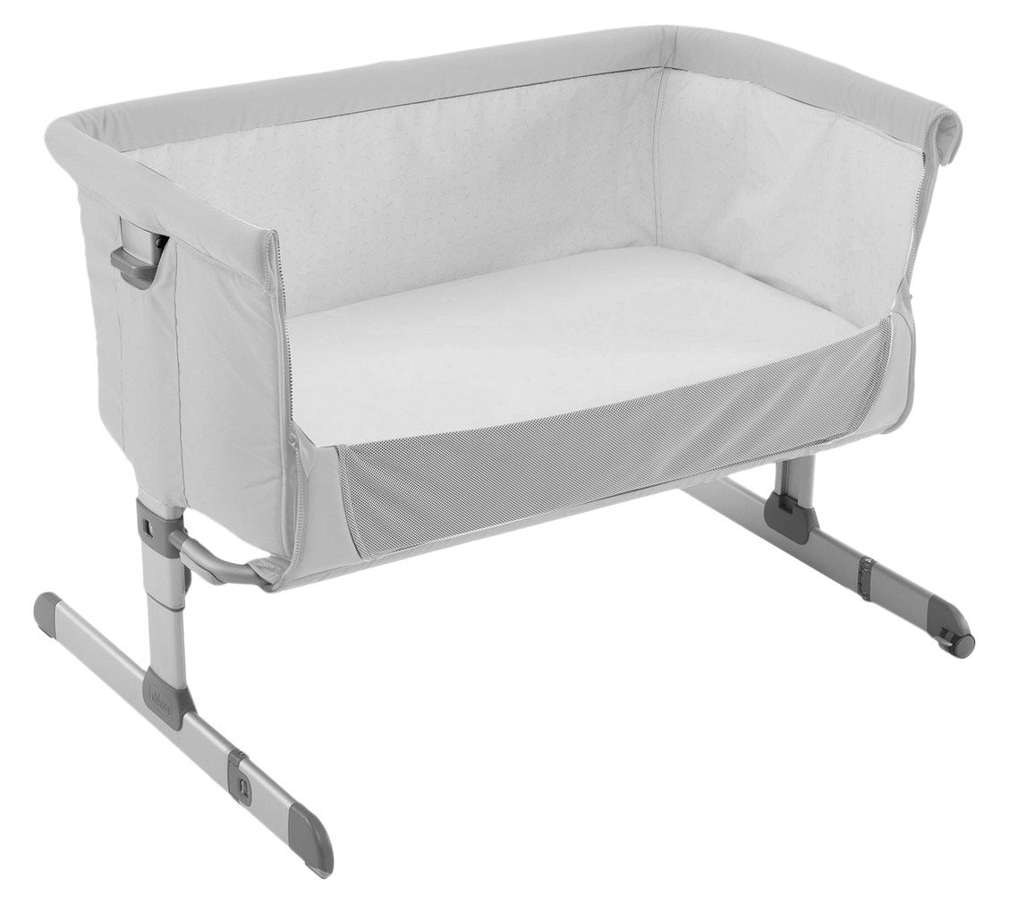 Chicco Co-sleeper cot Next2Me 2017 Silver - Buy at ...