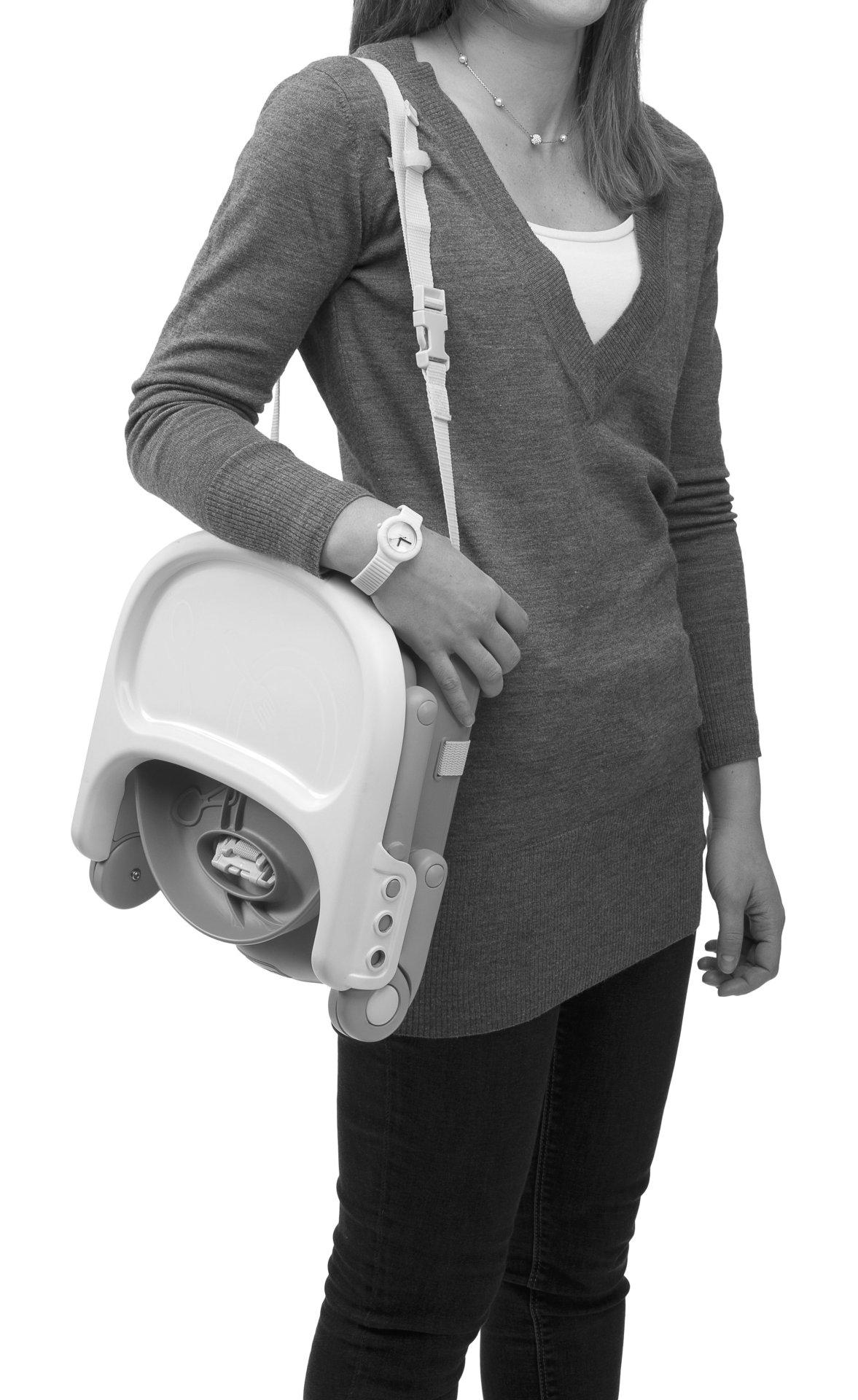 Chicco Booster Seat Pocket Snack 2018 Dark Grey Buy at