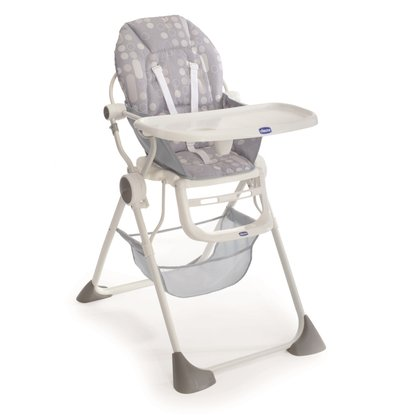 Chicco Highchair Pocket Lunch Silver 2016 - large image