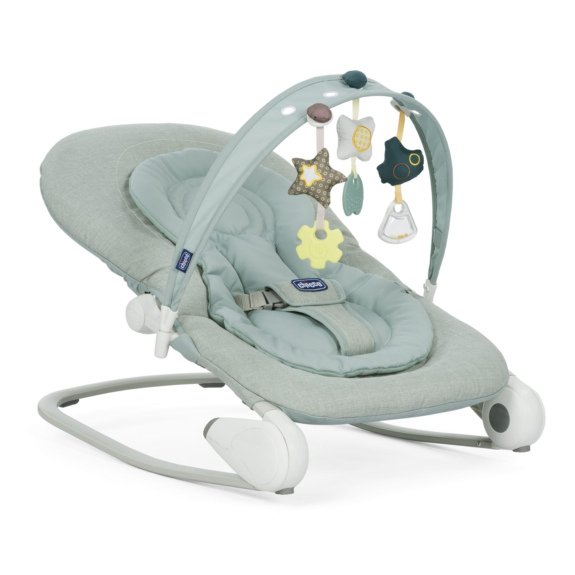 Chicco Hoopla baby bouncer 2018 DUSTY GREEN Buy at kidsroom
