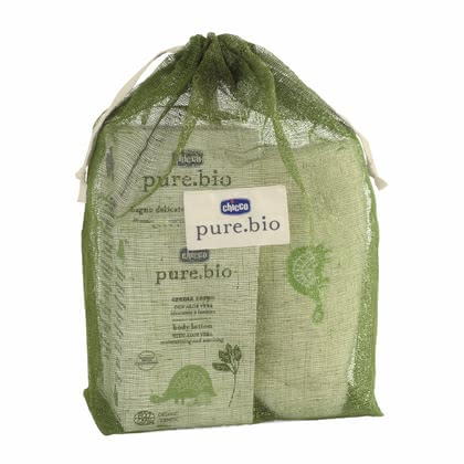 Chicco pure.bio Baby Natural Set, in cotton-bag 2014 - large image