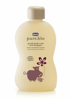 Chicco pure.bio mild foam bath for skin and hair, 200ml 2016 - large image