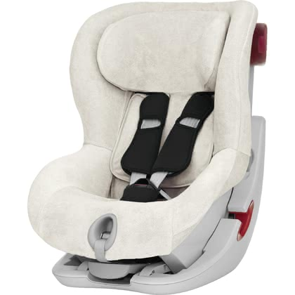 Britax Römer Summer Cover for Child Car Seat King II LS and King II ATS - * The Britax Römer summer cover is matching to the Britax Römer child car seat King II, King II LS and King II ATS and will absorb the heat of your sweetheart