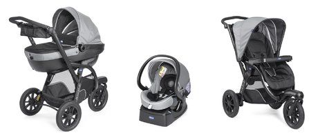Chicco Travel system Trio Activ 3 Dark Grey 2018 - large image