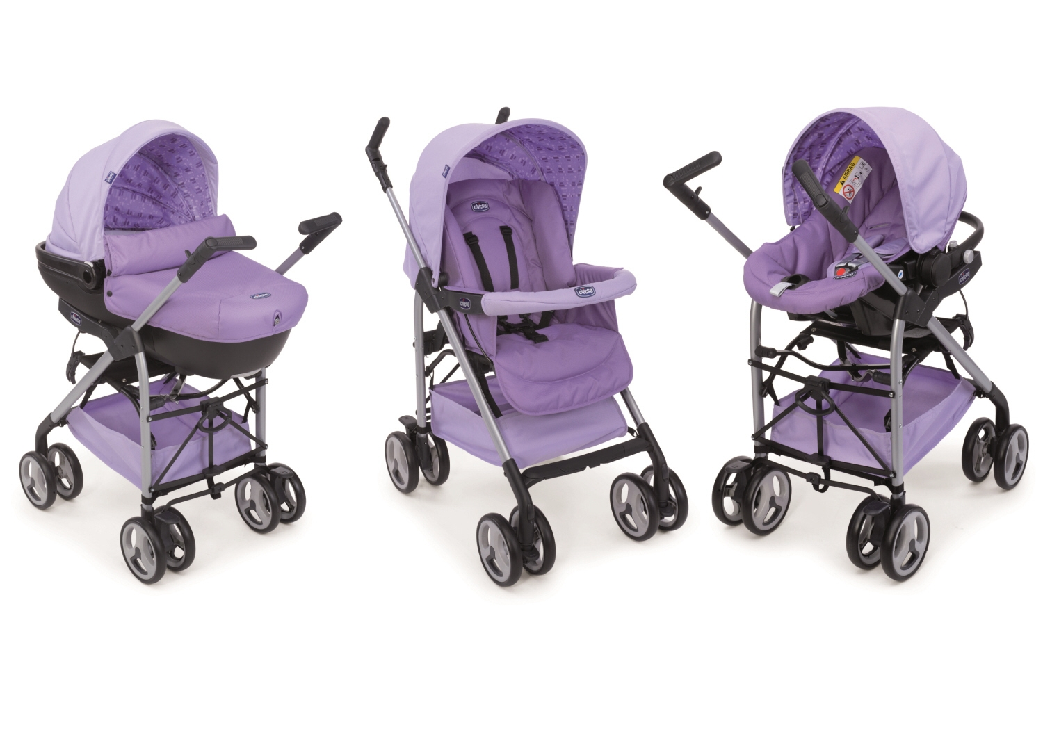 Chicco Travel System Trio Sprint 2015 Lila Buy At