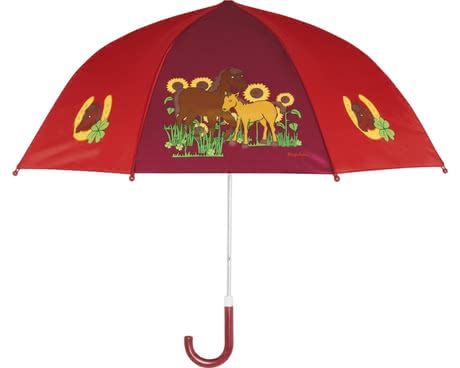 Playshoes umbrella for children, horses 2016 - large image