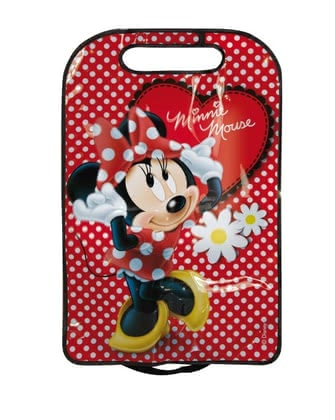 Car backrest protector, Minnie Mouse 2016 - large image