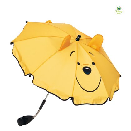 Disney baby parasol 3D Pooh yellow 2015 - large image