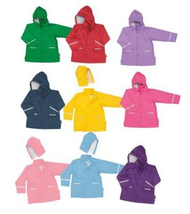 Playshoes rain jacket, basic Lila 2014 - large image