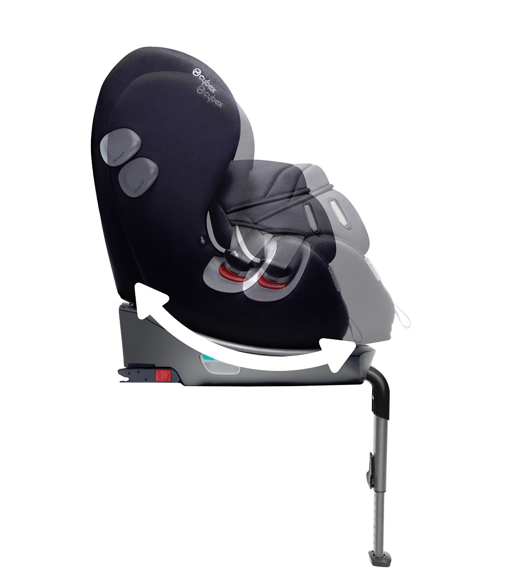 cybex rear facing child car seat sirona plus 2015 black beauty black buy at kidsroom car seats. Black Bedroom Furniture Sets. Home Design Ideas