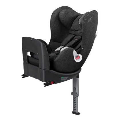Cybex Rear-facing child car seat Sirona Plus Black Beauty - black 2015 - large image